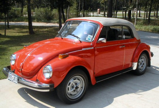volkswagen beetle convertible red. 1979 VW Beetle Convertible