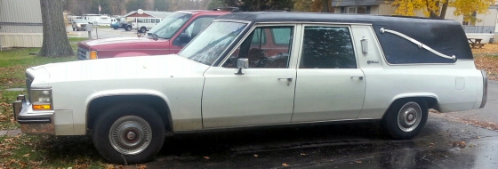 Photo of 1980 Cadillac Hearse by S & S