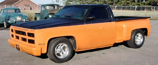 1980 CHEVROLET SHORT BED CUSTOMIZED PICK-UP