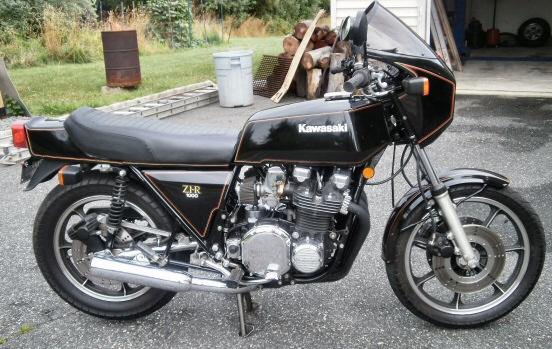 1980 Kawasaki Z1r Motorcycle
