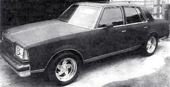 Photo of 1981 Buick Century 4DR Sedan With 454 Engine