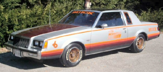 1981 Buick pace car
