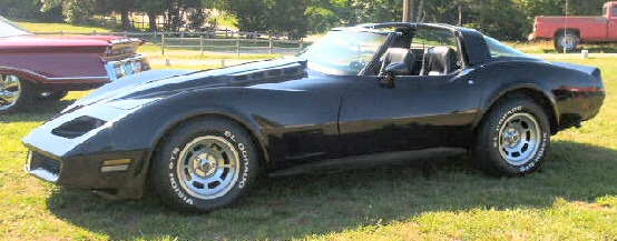1981 Corvette coupe