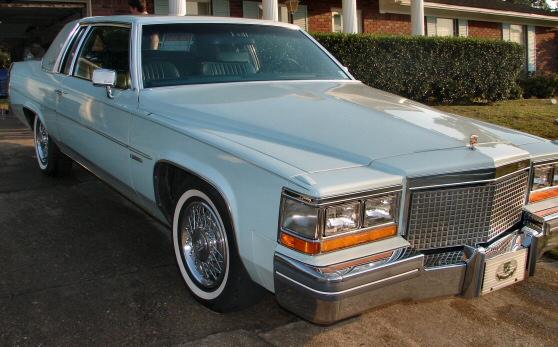 1981 Cadillac Coupe de Ville For Sale