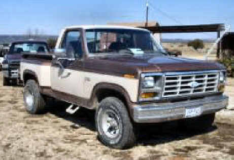1982 Ford F150 1/2 Ton Pickup