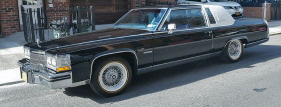 Photo of 1983 Cadillac Fleetwood Brougham Coupe With 24,000 Original Miles
