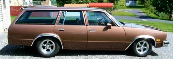 1983 CHEVROLET MALIBU WAGON For Sale