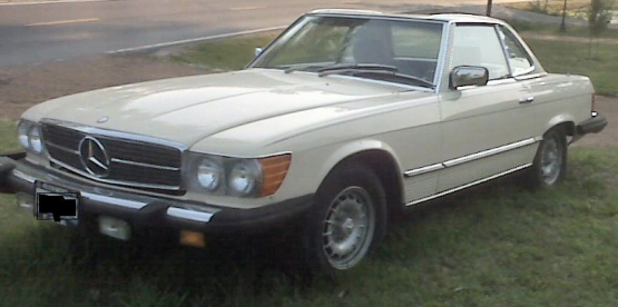 Photo of 1983 Mercedes 380 SL Coupe
