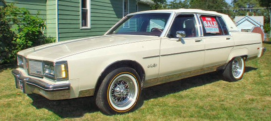 1983 Oldsmobile - Ninety-Eight Regency 95000 miles 4 door,