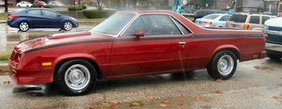 Picture of 1984 Chevy El Camino  Choo-Choo Conversion