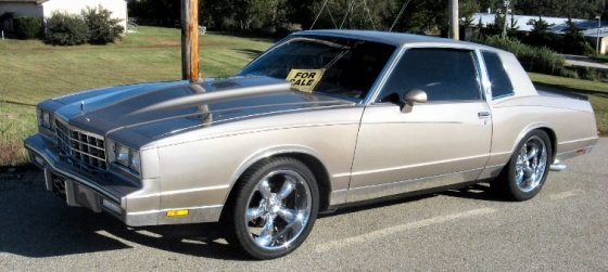 Photo of 1984 Chevy Monte Carlo