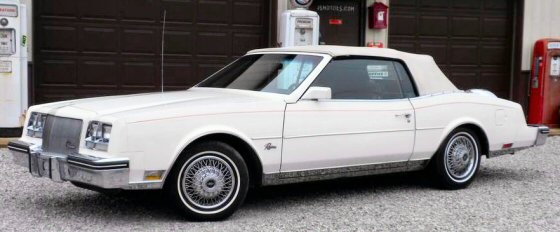 Photo of 1985 Buick Riviera Convertible 1 Of 400
