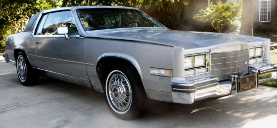 Photo of  1985 Cadillac Eldorado Biarritz Coupe With Stainless Steel Roof