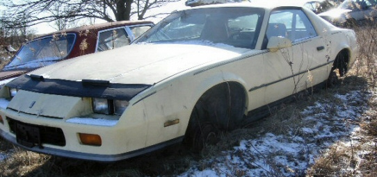 1985 Chevrolet Camaro For Parts