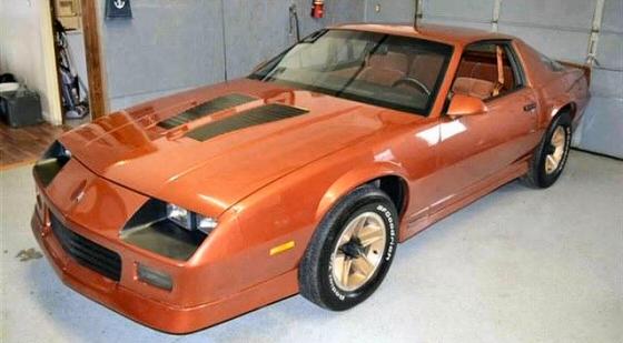1985 Chevrolet Camaro Z28 Coupe With 21 000 Original Miles