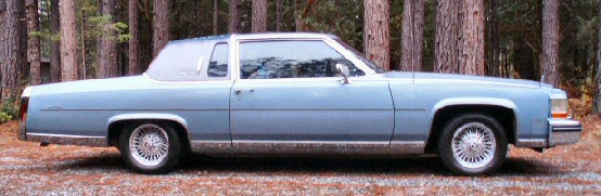 1985 Cadillac Fleetwood Brougham Parts Pictures to Pin on