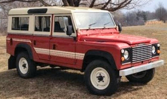 Photo of 1985 Land Rover Defender 110