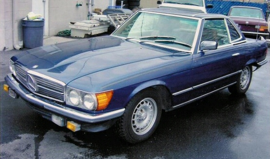 1985 Mercedes 380SL Roadster