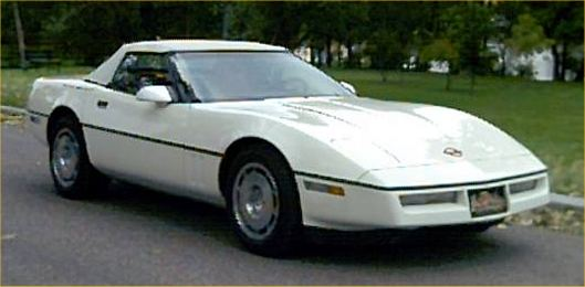 1986 Corvette Indy Pace Car