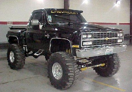 cars inspiration lifted 86 chevy silverado. Black Bedroom Furniture Sets. Home Design Ideas