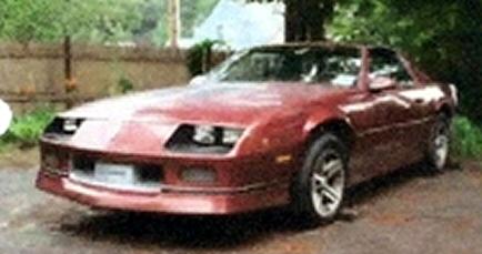1987 Camaro Iroc Z T Top
