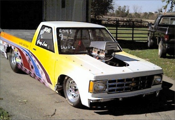 1987 Chevy S10 drag truck
