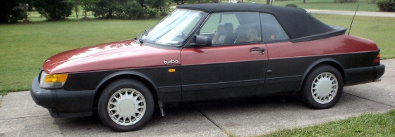 Photo of 1987 SAAB 900 Convertible With Turbo