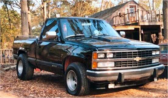 1988 Chevy Silverado short bed pickup