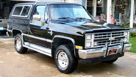 1988 K5 Blazer