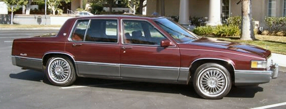 1989 Cadillac Sedan Deville for Sale