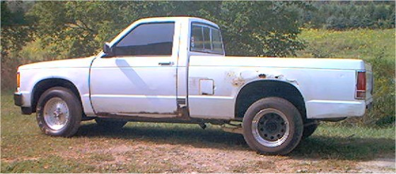 1989 Chevy S10 Pickup