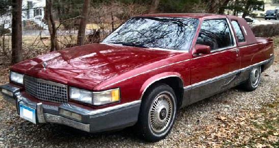 1989 cadillac fleetwood 2 door sedan. Black Bedroom Furniture Sets. Home Design Ideas