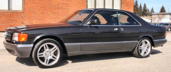 1989 Mercedes 560 SEC Coupe