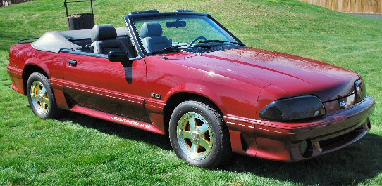 1989 1/2 Mustang Gt Convertible 25th Anniversary Edition