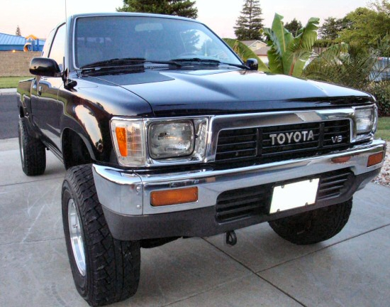 1989 toyota pickup dlx 4x4 extra cab. Black Bedroom Furniture Sets. Home Design Ideas