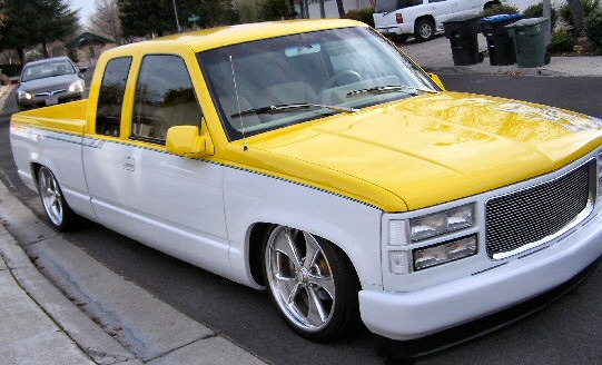 Chevy Custom Extended Cab pickup