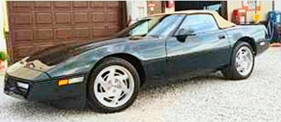 Photo of 1990 Corvette Convertible With 53,000 Miles