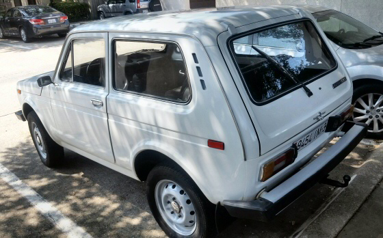 Photo of 1990 Lada Niva 2121 4x4 2DR Russian Car