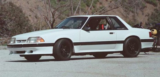 '90 Saleen Mustang Notchback