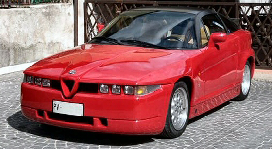 Photo of  1991 ALFA ROMEO Sprint Zagato ES-30 Coupe Rare