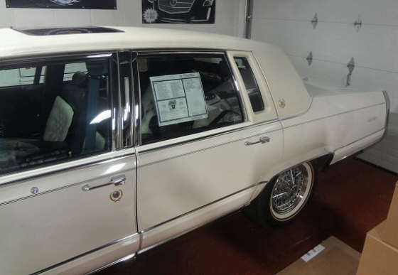 Photo of 1991 Cadillac Brougham Show Quality, Original With Only 17,000 Miles