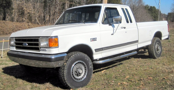 Extended Cab Pickup Truck