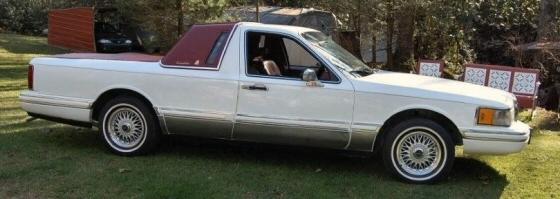 1991 Lincoln Towncar Conversion