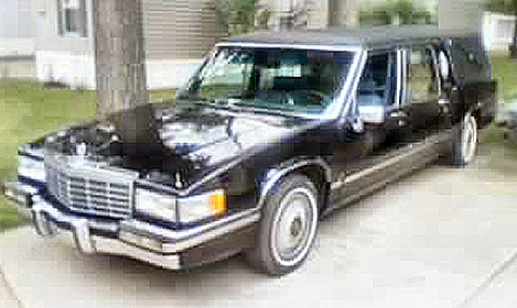 1992 Cadillac Fleetwood Hearse