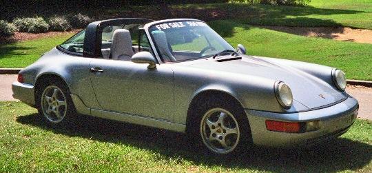 1992 porsche 911 carrera 2 targa. Black Bedroom Furniture Sets. Home Design Ideas