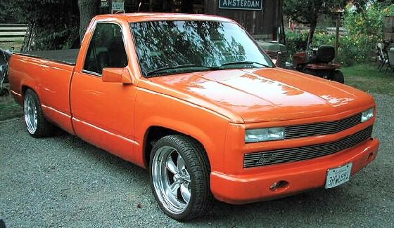 Chevy Trucks Lowriders