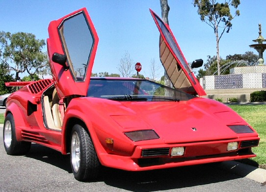 25th Anniversary Countach replica