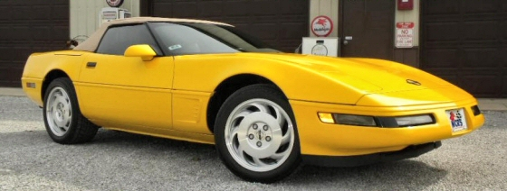 Photo of 1995 Chevrolet Corvette LT1  Roadster With 21,000 Actual Miles