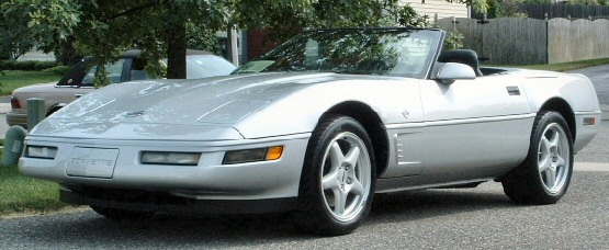 1996 Corvette Collectors Edition Convertible