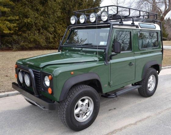 1997 Land Rover Defender 90 Sport Utlility Vehicle